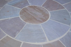 Raj-Green-Blend-Circle-Paving